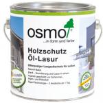 Защитное масло-лазурь ОСМО для древесины с эффектом серебра